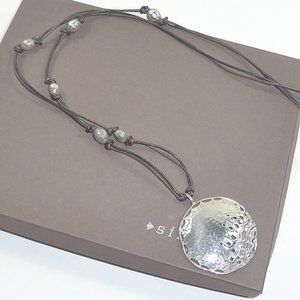 Silpada Prince and the Pauper Leather Necklace